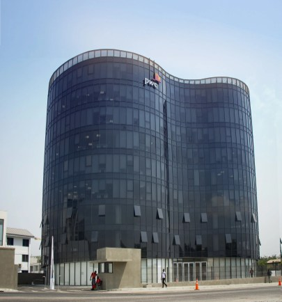pwc tower developed by goldkey properties ghana