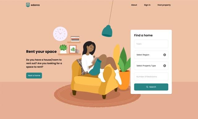 homepage of edanra