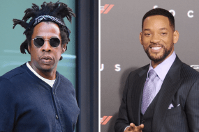 Picture of Jay-Z and Will Smith, who invested in Landis Technologies, a rent to own real estate startup