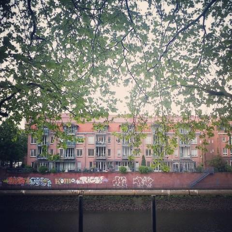 Across the river in Bremen