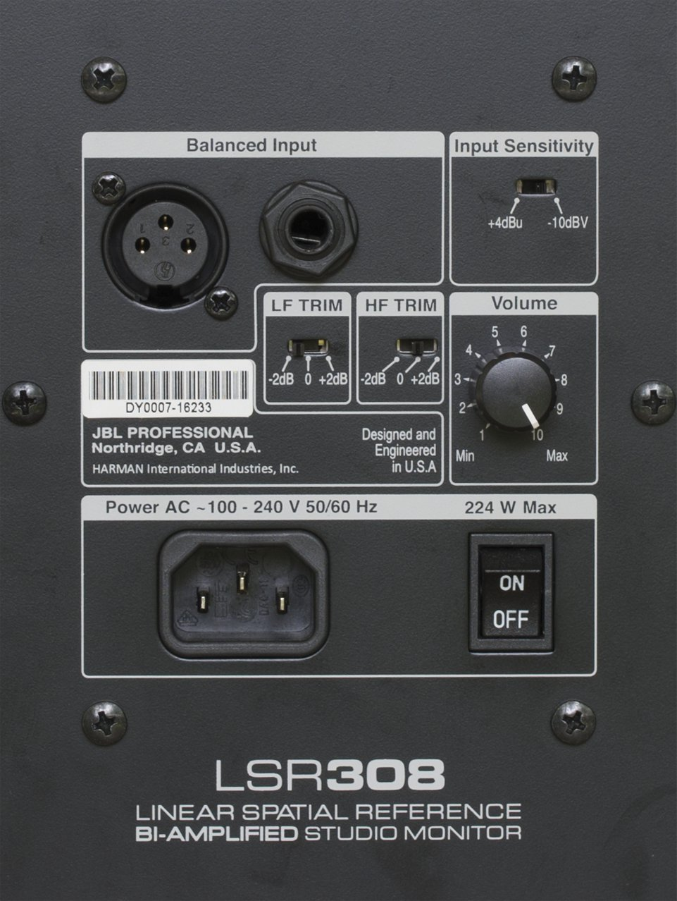 JBL LSR308 Review