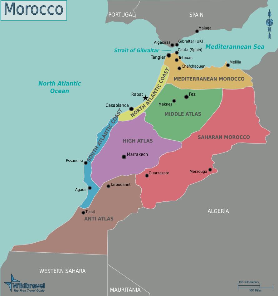 Ireland To Morocco