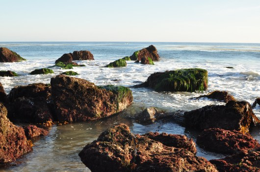 Low tide at Leo Carillo Beach, Malibu