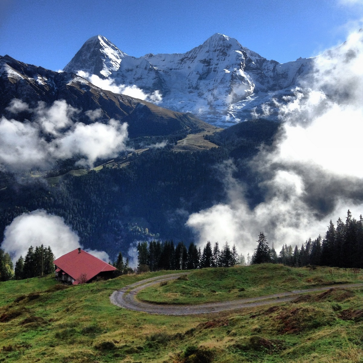 Travel Memories: Gimmelwald
