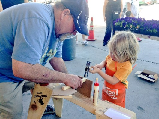 Kids Workshop Home Depot