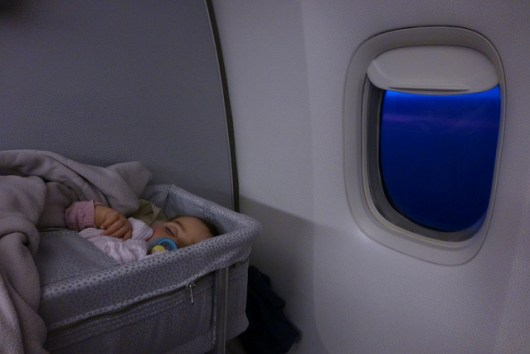 Baby's first flight (Photo by: https://www.flickr.com/photos/austinevan/)