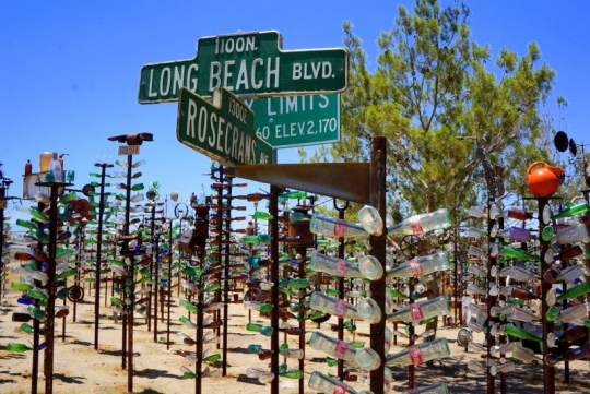 Route 66, Bottle Tree Ranch - Arizona and Utah Grand Canyon Road Trip