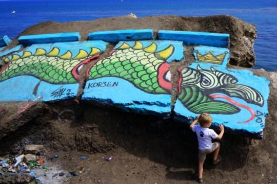 Exploring Sunken City of San Pedro