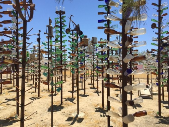 Bottle Tree Ranch, Route 66 in California