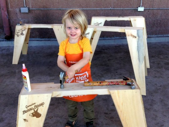 Home Depot Workshop, Free things to do with the Family in Los Angeles