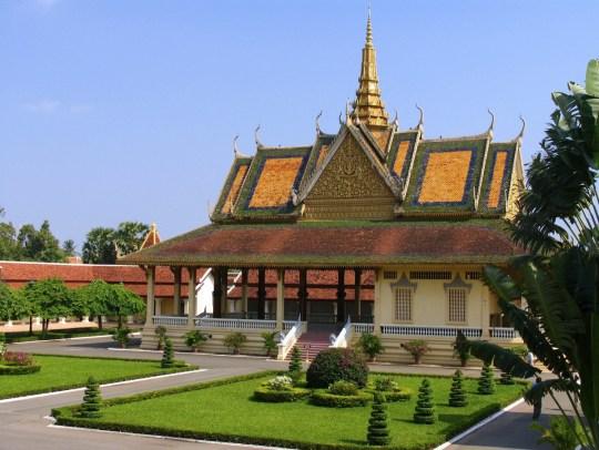 Royal Palace - Cambodia through Photos