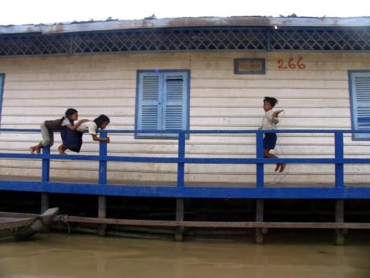 Cambodia in Photos: Tonle Sap, floating village