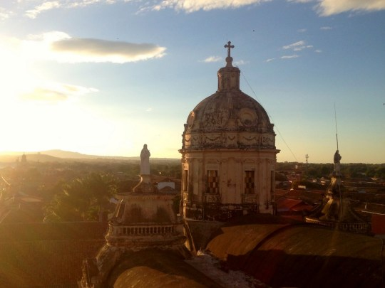 05-Granada_Merced_Sunset - Where to go in Nicaragua