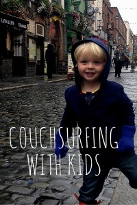 Want to connect with locals? Save some pennies too? Check out Couchsurfing with your kids!