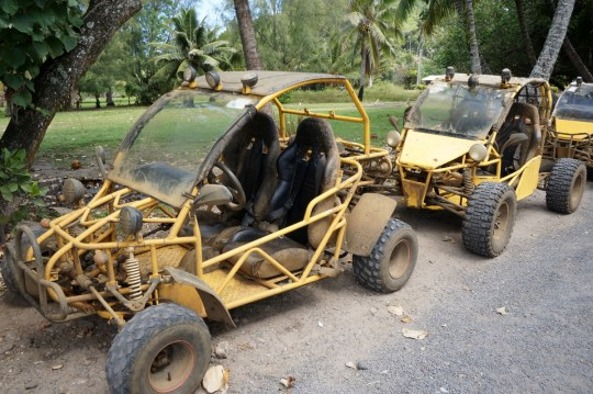 Raro Buggy Tour - Guide to the Cook Islands with kids