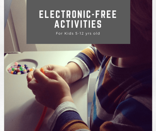 Electronic Free Activities for Kids 5-12