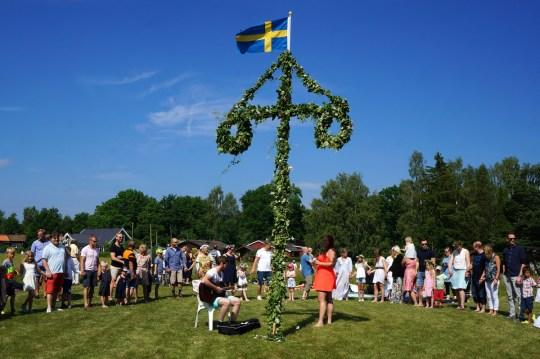 Celebrating Midsummer in Sweden