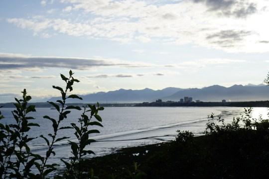 Alaska road trip with Thrifty Rental Car -Earthquake Park