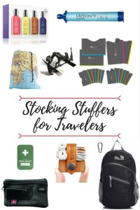 Need some last minute gifts for the traveler in your life? Check out our gift guide for stocking stuffers for travelers, all under $20!