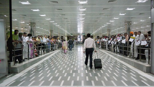 Delhi Airport Arrivals