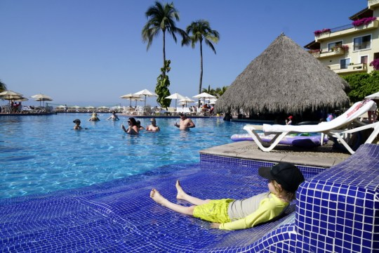 Pool at the Velas Vallarta