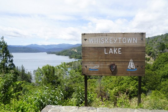 Whiskeytown outside of Redding is an amazing place to spend a few days while in northern California