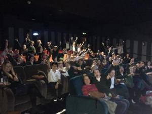 Young entrepreneurs given cinema trip