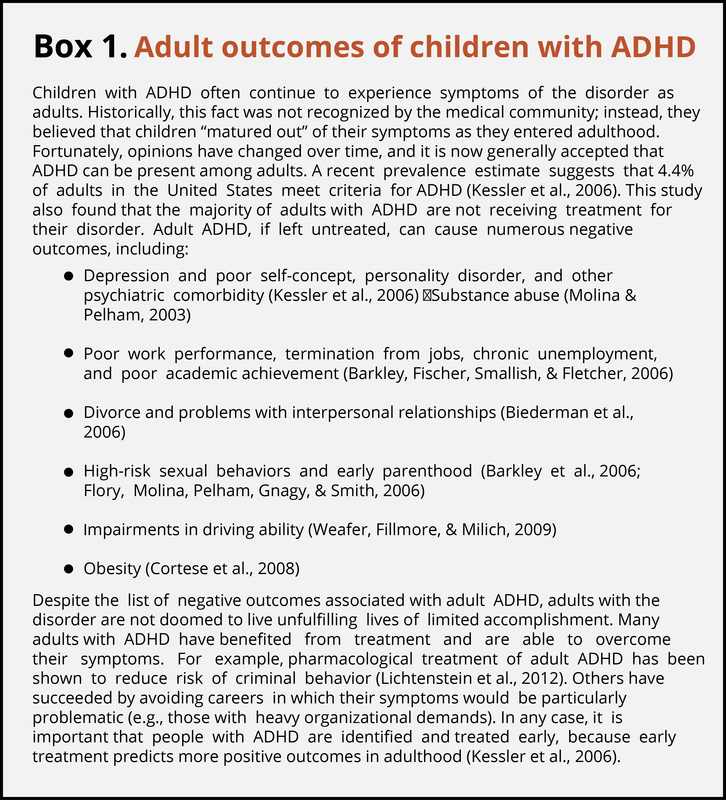 ADHD And Behavior Disorders In Children – Psychological Science