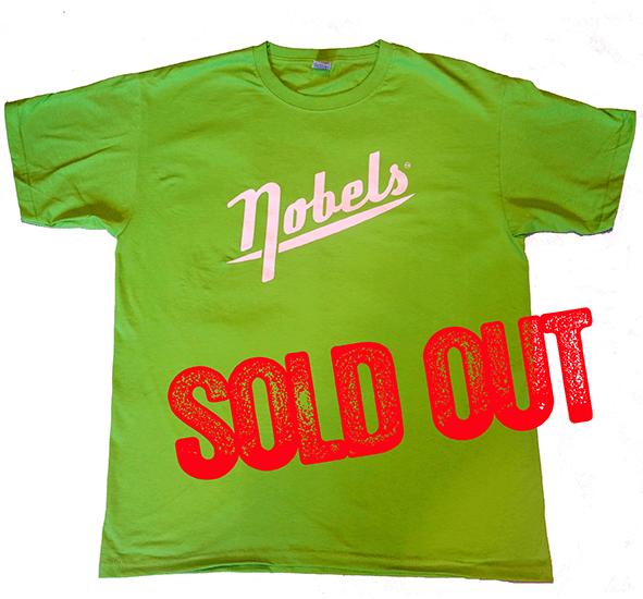 Nobels T-Shirt LOGO Green 1
