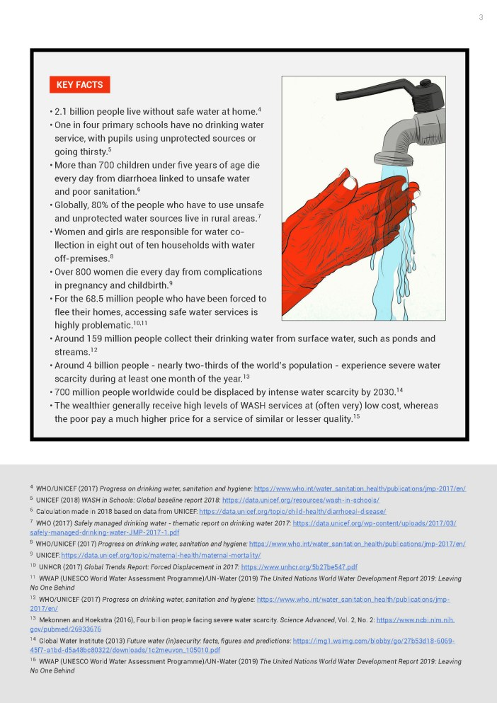 World Water Day Fact Sheet