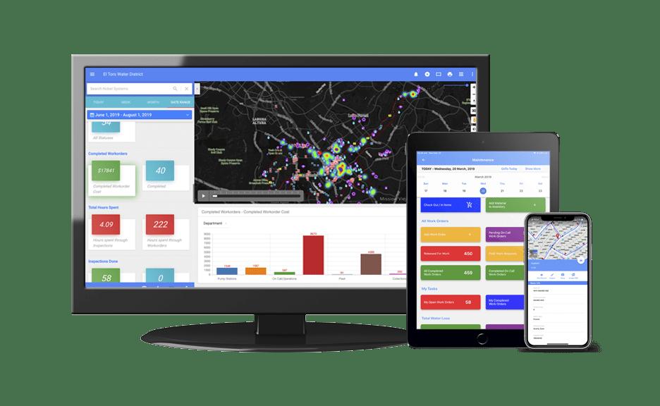 GeoViewer Work Order software management for utilities