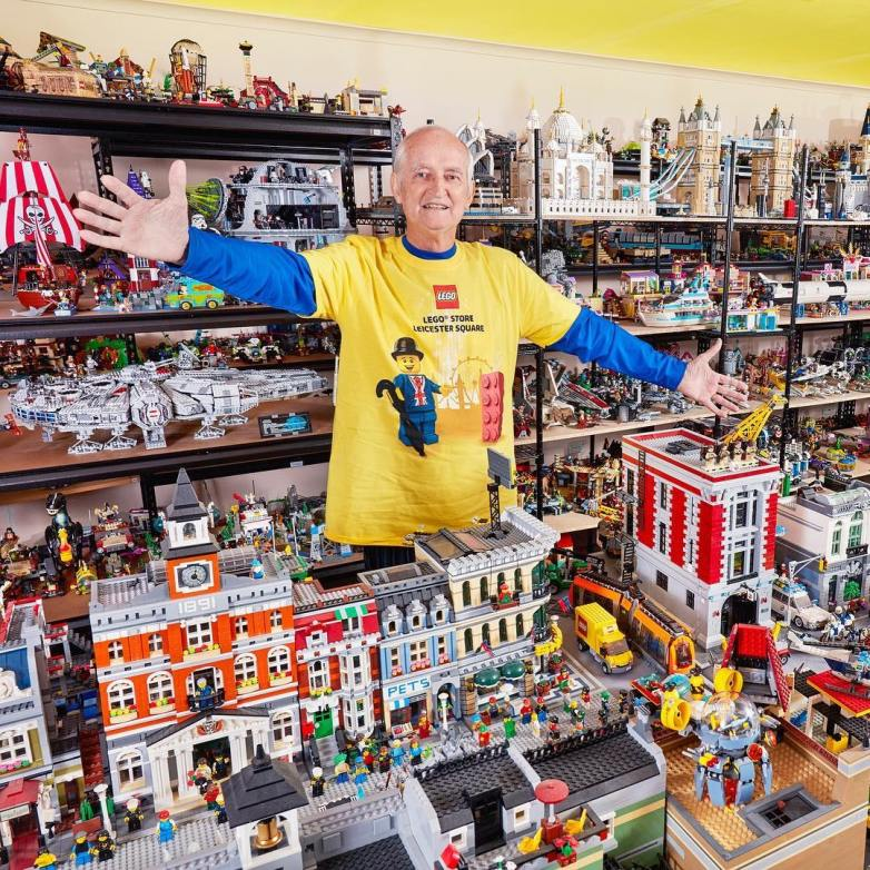 World's largest collection of Lego sets