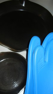 These mitts are rated for high temps up to 500 degrees. I always use them when baking.