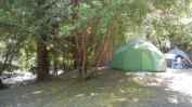 Tent site 25 at Indian Creek RV park
