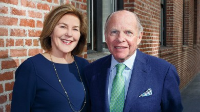 John and Gretchen Berggruen