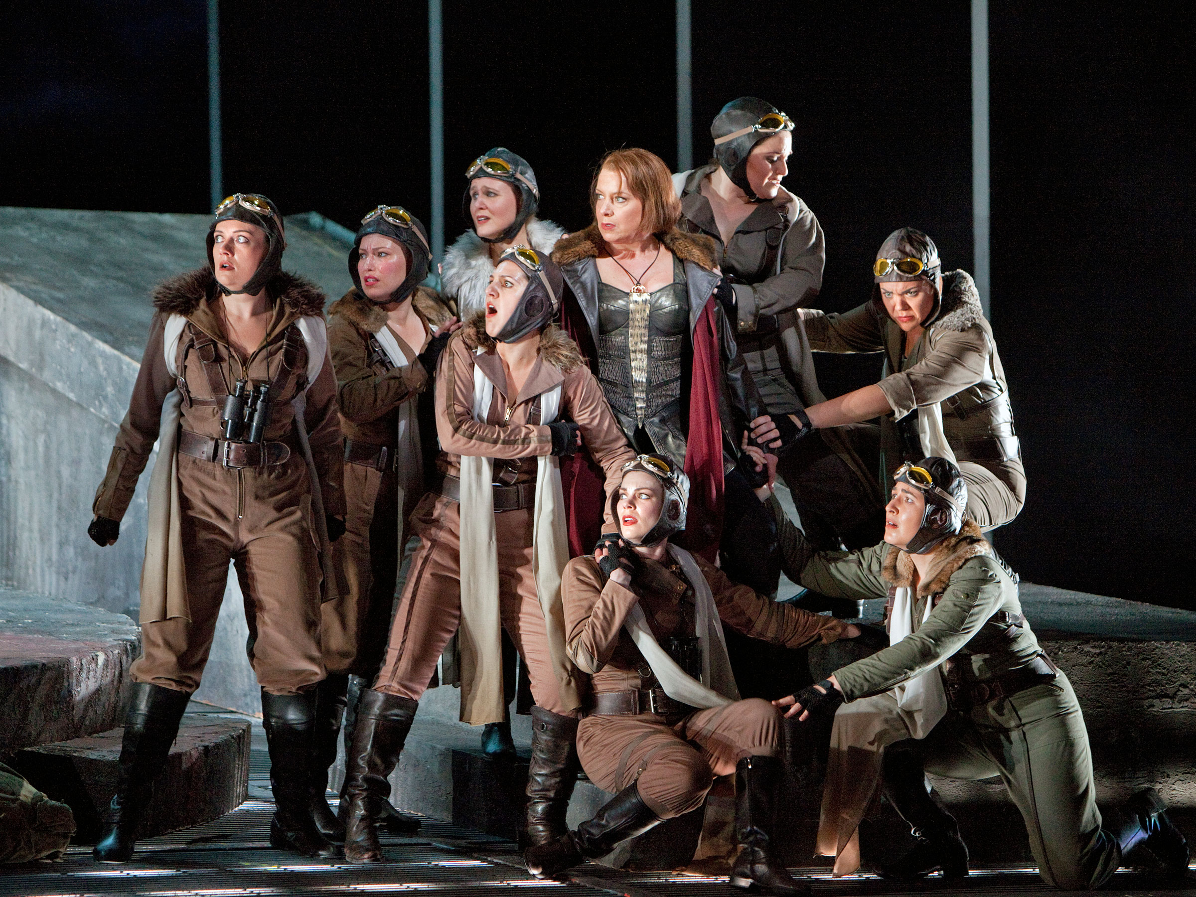 sf Opera production of Die Walküre
