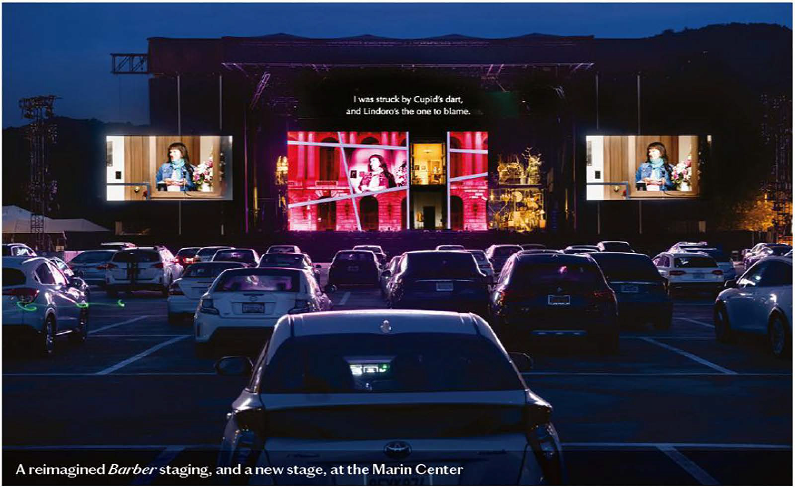 A reimagined Barber staging, and a new stage, at the Marin Center