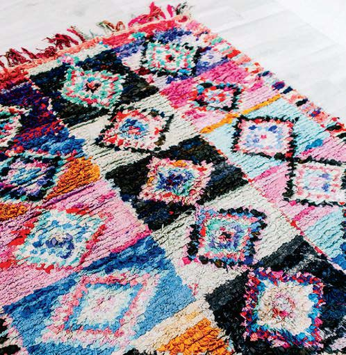 That's the Way Love Goes Berber Rug ($500)