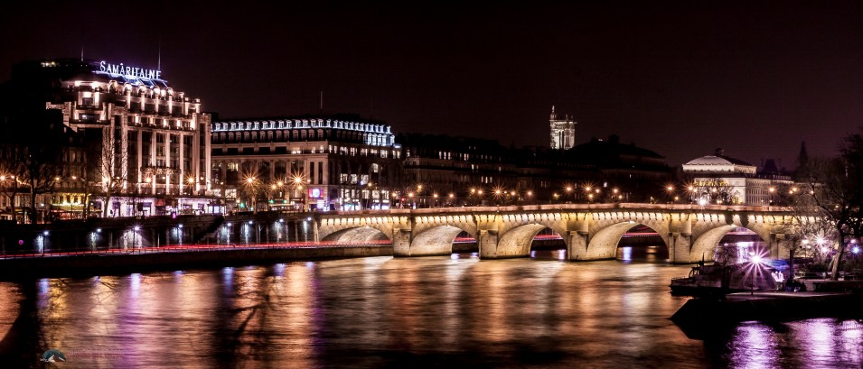 View From The Pont Des Arts