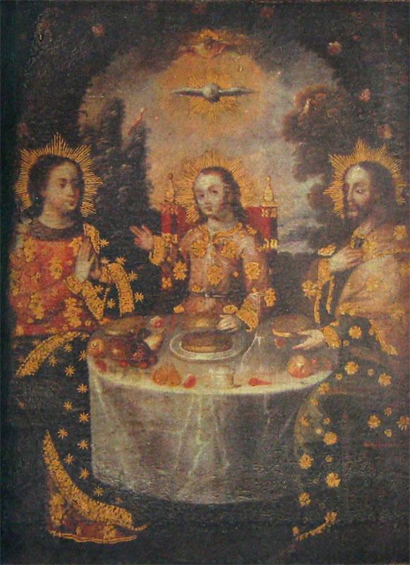 The Holy Family, Cusco School