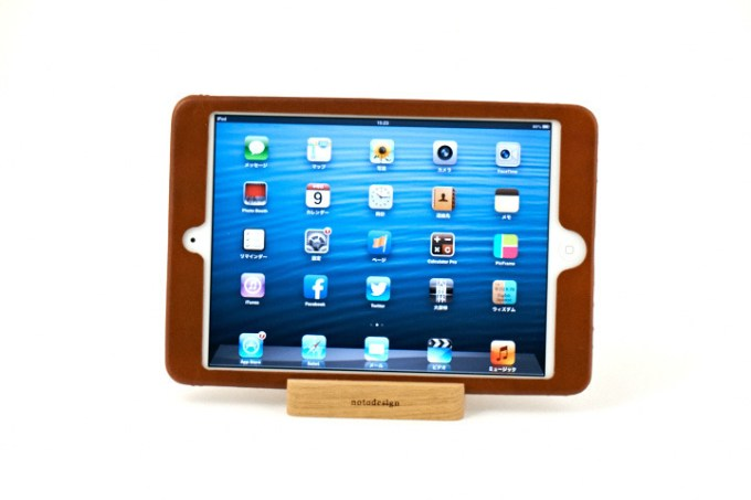 引用元: notodesign leather case for iPad mini  http://www.notodesign.jp/notodesign_x_aiko/ipadcase.html#1