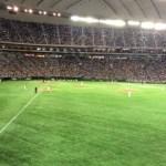【東京ドーム観戦記】外野指定席のライト側で観戦