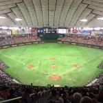 【東京ドーム観戦記】C指定席の座席番号1の最後方席は、球場全体を見渡せて圧巻の風景