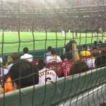 【東京ドーム観戦記】B指定席の最前列は視界が悪い