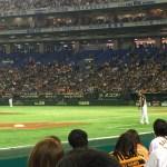 【東京ドーム観戦記】エキサイトシートは、列よりもホームベース側に近いかどうかを優先したほうがよい