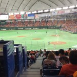 【東京ドーム観戦記】三塁側の指定席S見切り席はどうなの?