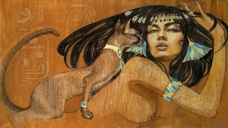 Как маленький котёнок помог царице Нефертити