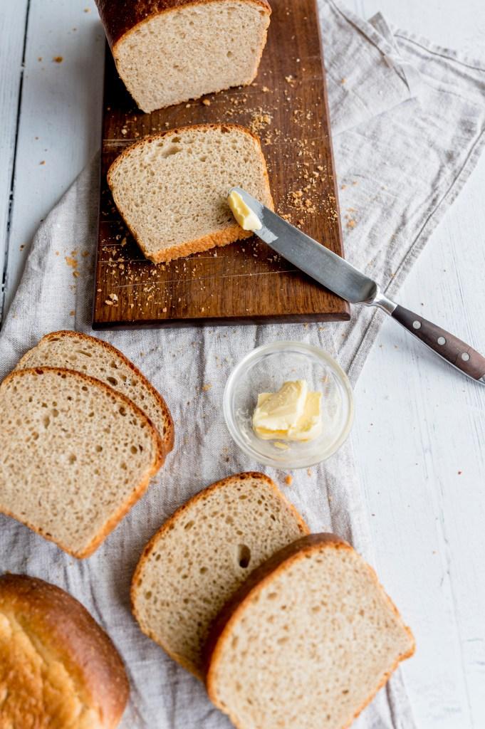 Sourdough Discard Sandwich Bread