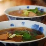 新春のお雑煮とシンプルお節