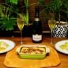 車エビづくしのフレンチ風家飯 de シャンパン